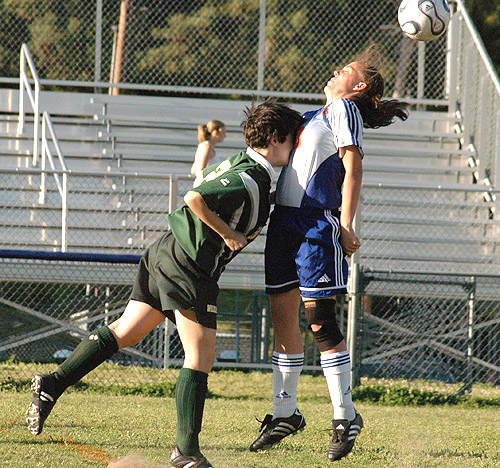 BUNN EDGES LOUISBURG IN OT SOCCER THRILLER