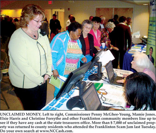 Franklinton Scam Jam empowered seniors