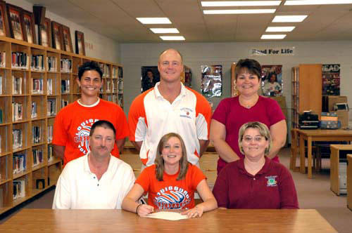LOUISBURG HIGH'S PINNELL TO PLAY VOLLEYBALL AT PEACE COLLEGE