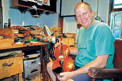 Ancient art tunes in with modern-day 'labor of love'