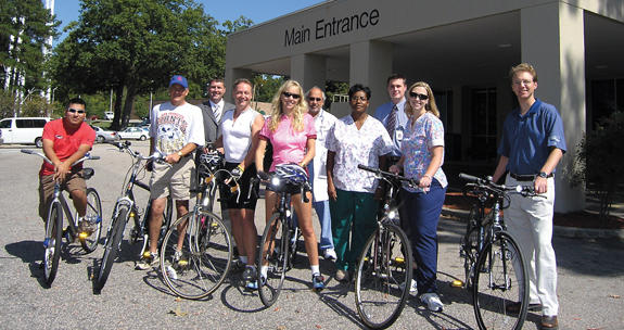 Cyclists ride for cancer research, awareness