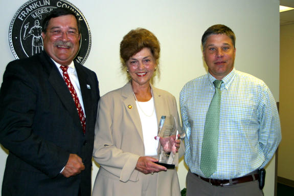 Allen recognized for environmental work