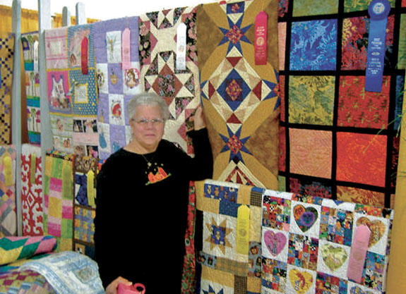 Quiltmaker takes 2nd