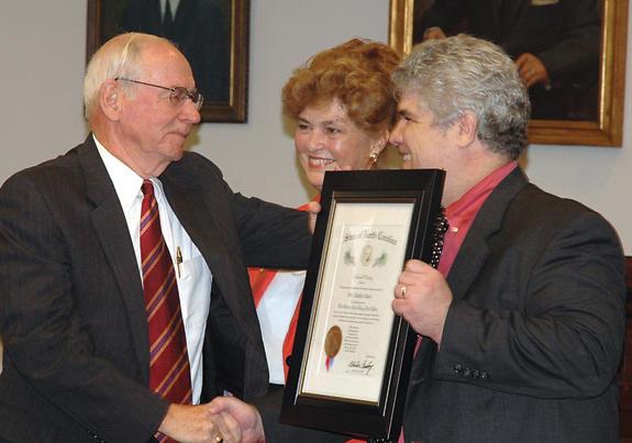 Davis awarded Long Leaf Pine