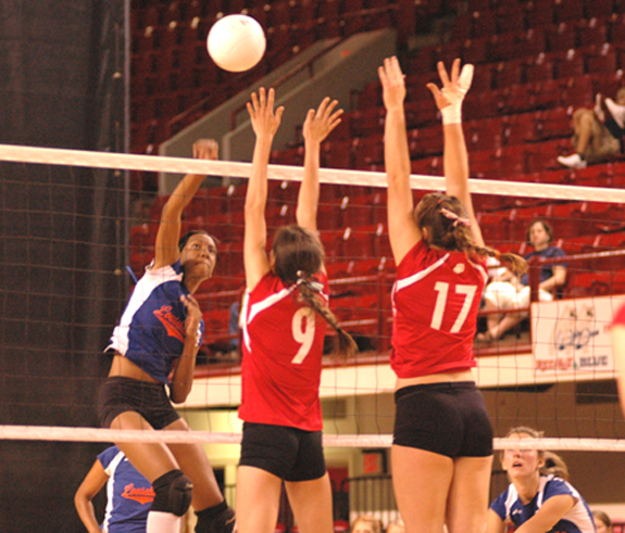 BREAKING NEWS!!! Louisburg Volleyball falls short in State Championship Match