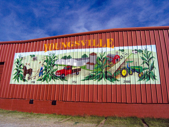 NEW YOUNGSVILLE MURAL