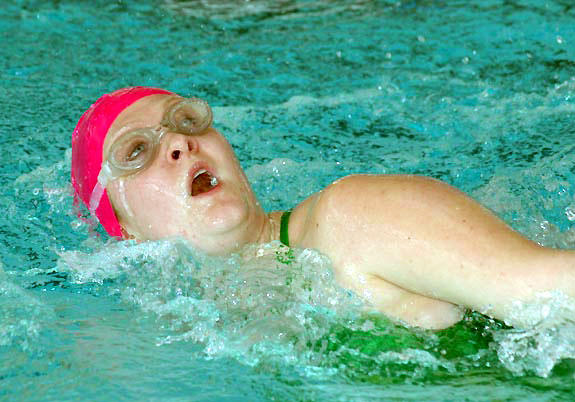 Bunn, Franklinton swimmers tread water in conference title splash
