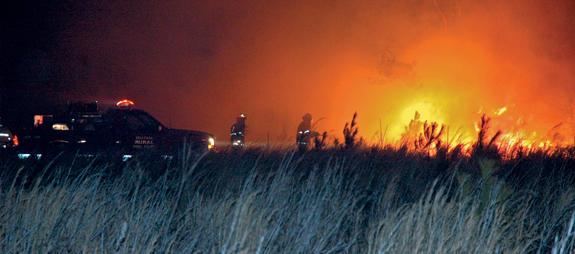 BREAKING NEWS!!! Brush Fires Burn Franklin County!