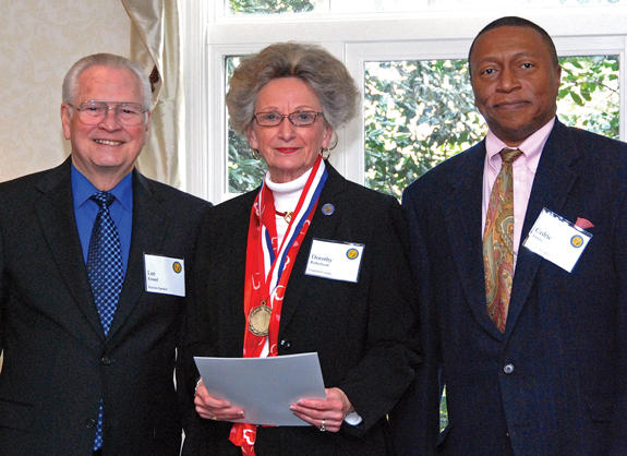 <i>Dot Robertson honored with state Medallion Award</i>