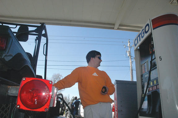 Gas prices hopping high for Easter weekend holiday