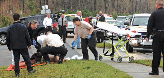 Murder/suicide in Louisburg