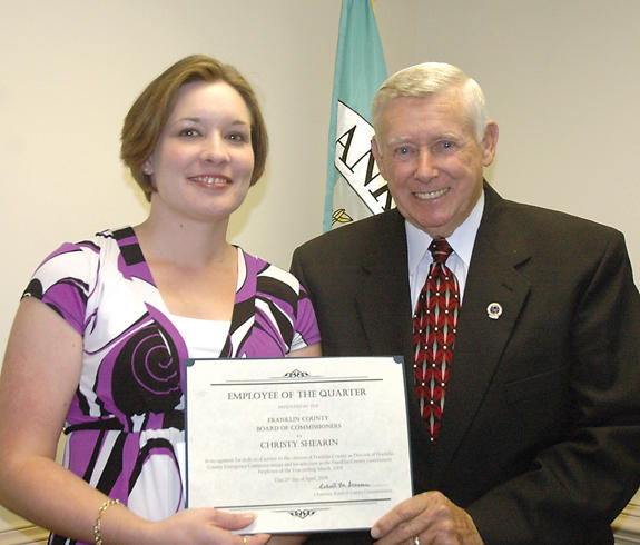 <i>County Employee of the Quarter</i>